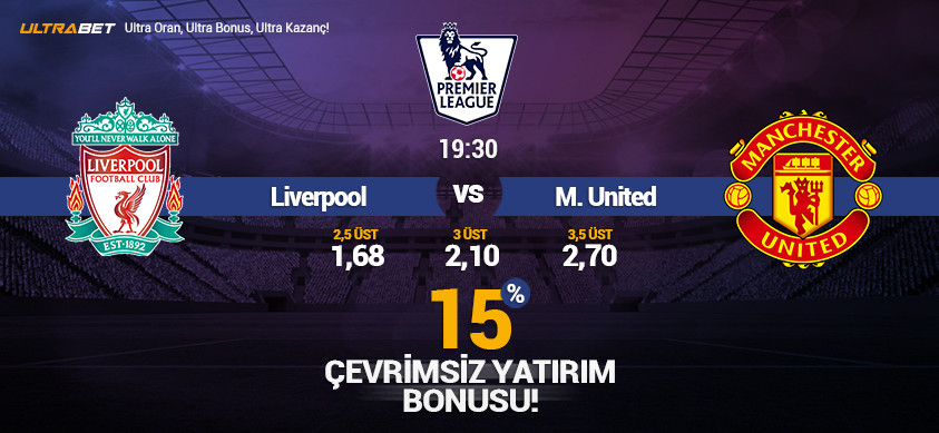 Liverpool - M.United Canlı Maç İzle