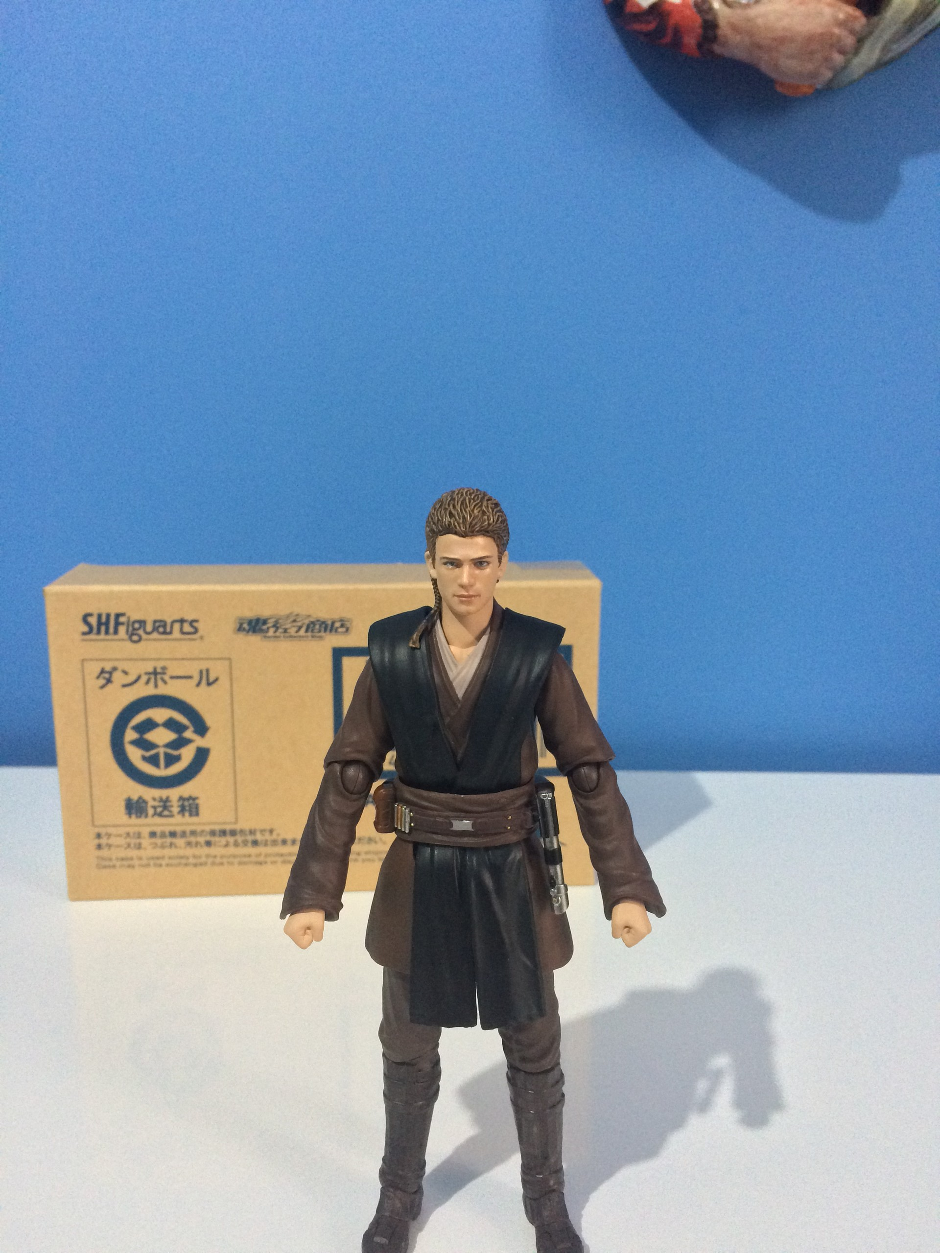 """Bandai S.H Figuarts 6/"""" Star Wars A New Hope Han Solo V1 original not re-issue!"""
