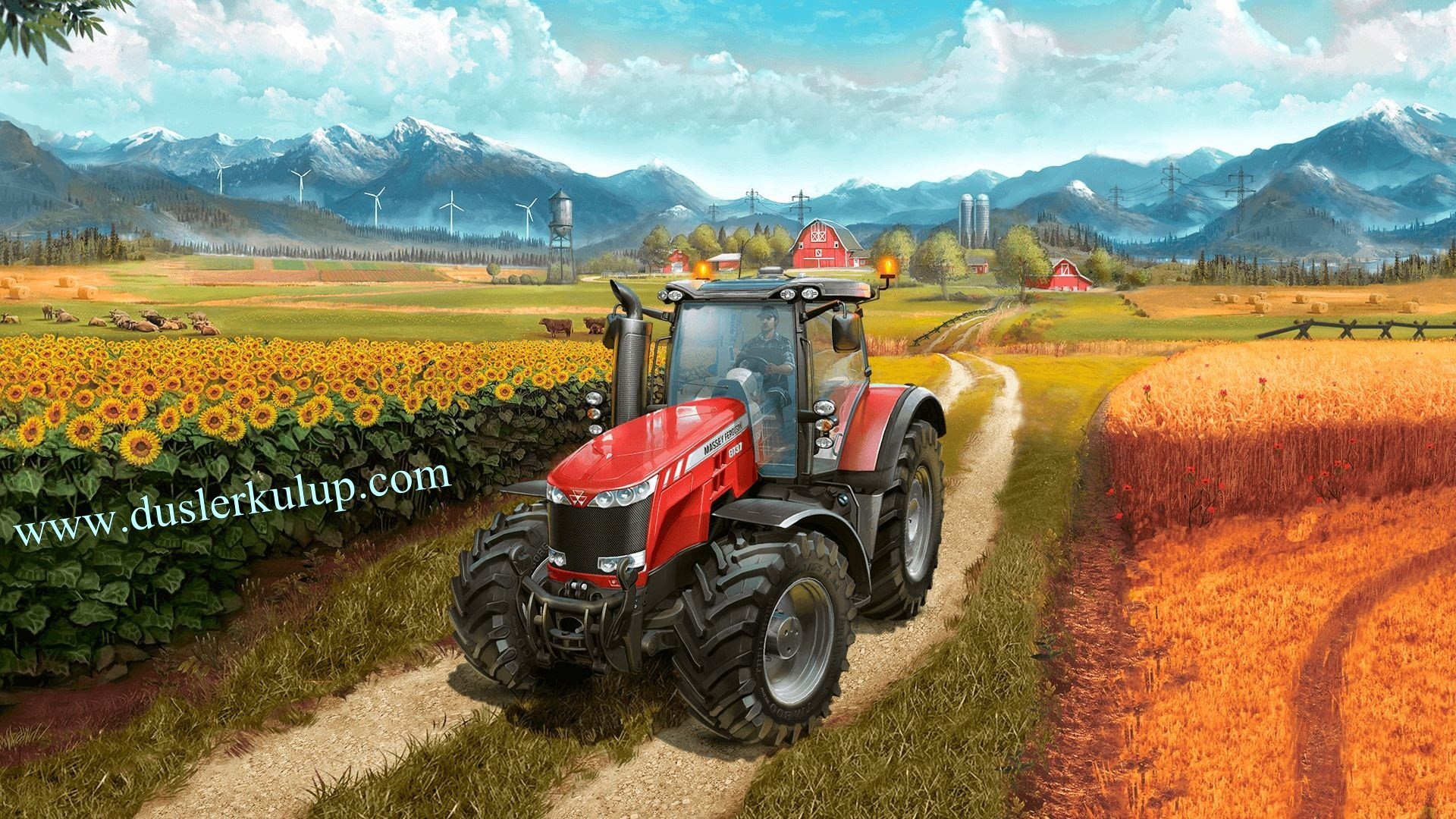 01Q6ro Farming Simülatör 2017 Çiftçilik Oyununu Full İndir