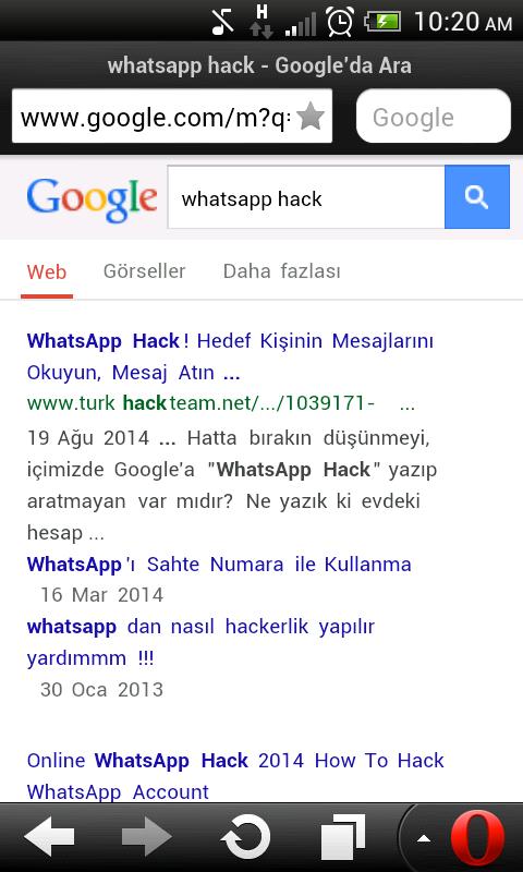 whatsapp mesaj hackleme