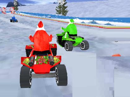 Noel Baba Yarışları Oyunu