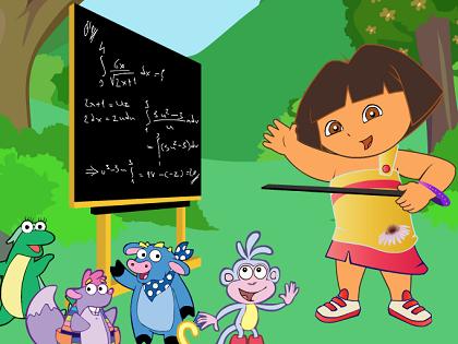 Öğretmen Dora Oyunu