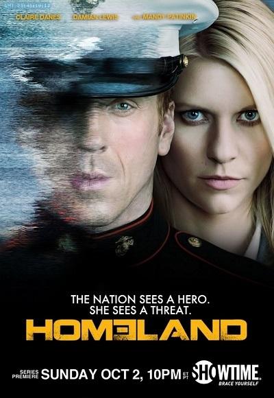 Homeland 1. Sezon Tüm Bölümler ( BRRip XviD ) Türkçe Dublaj Tek Link İndir
