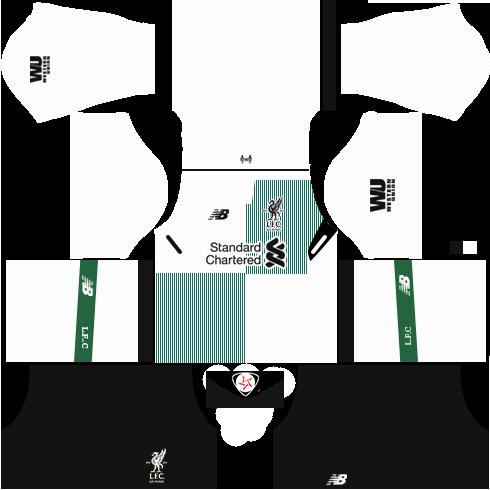dc0fa0619 DLS 18 17 Liverpool Kits and Logo URL - Tumhari Web 24 7