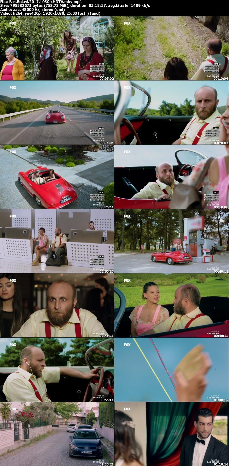 Baş Belası - 2017 - 1080p - Yerli Film indir