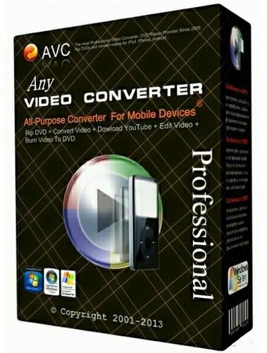 Any Video Converter Pro 6.1.7 Portable İndir