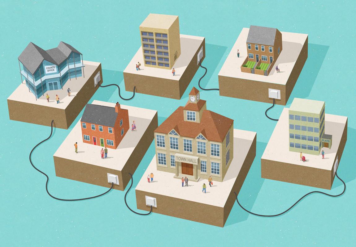 Çizer John Holcroft'ın Modern Toplumu Eleştiren 10 İllüstrasyonu 9. resim