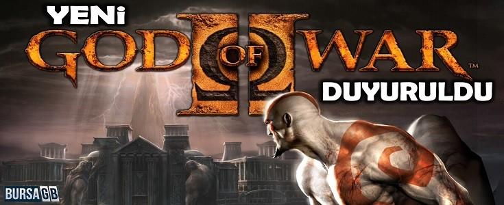 Yeni God of War Oyunu Duyuruldu