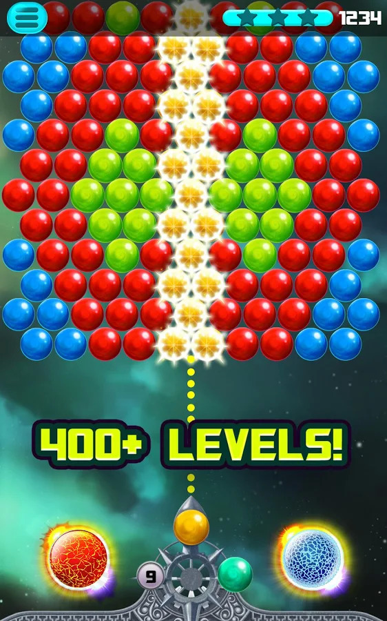 Bubble Puzzle Space Apk