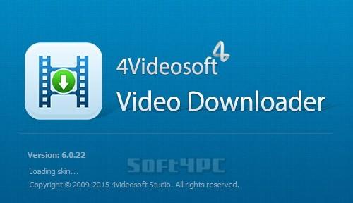 4Videosoft Video Downloader Full 6.0.58 indir