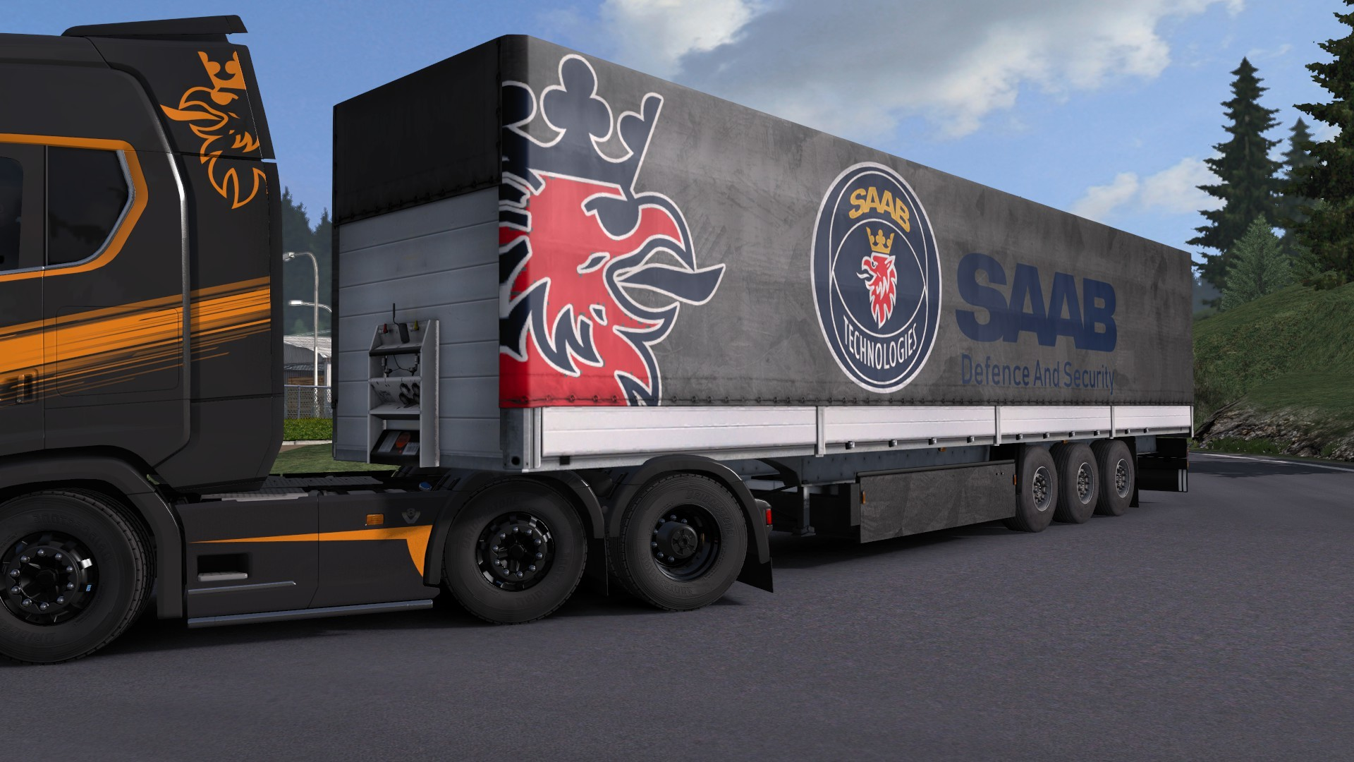 Saab Technologies Trailer by l1zzy