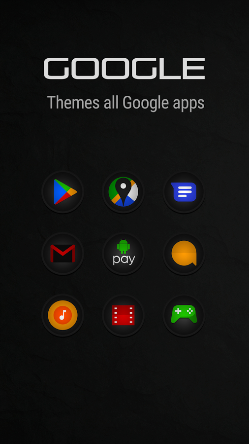 Stealth Icon Pack APK İndir