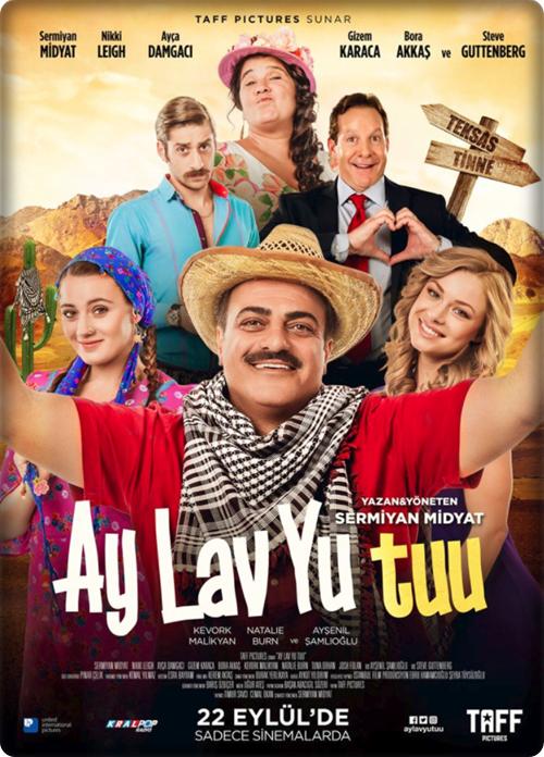 Ay Lav Yu Tuu 2017 (Yerli Film) 720p HDTV