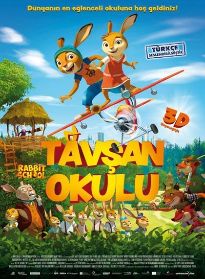 Tavşan Okulu – Rabbit School: Guardians of the Golden Egg 2017 BRRip XviD Türkçe Dublaj indir