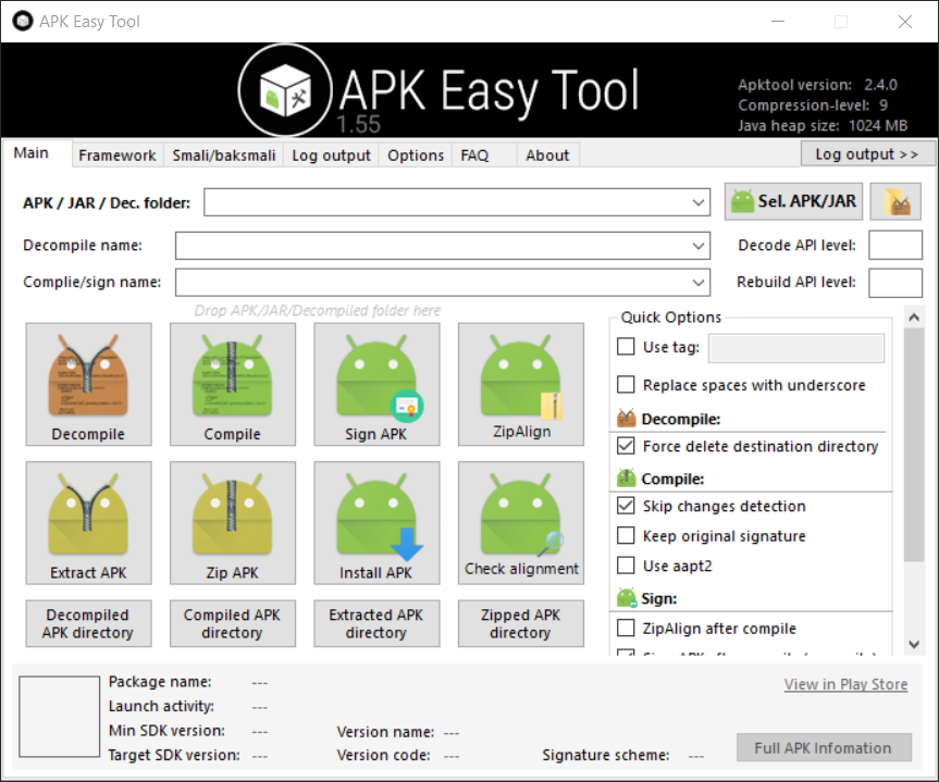 APK Easy Tool 1.5.5.0 [x86-x64] | Katılımsız