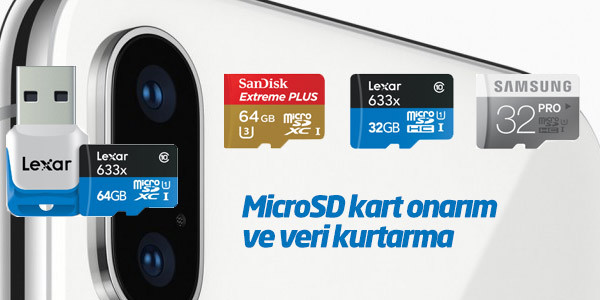 MicroSD Kartlar Nasıl Onarılır veya Düzeltilir