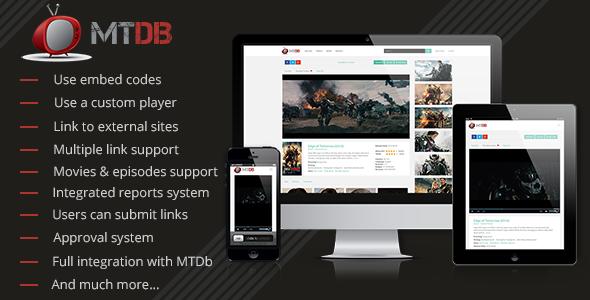 MTDb v2.9.4 - Film Site Scripti