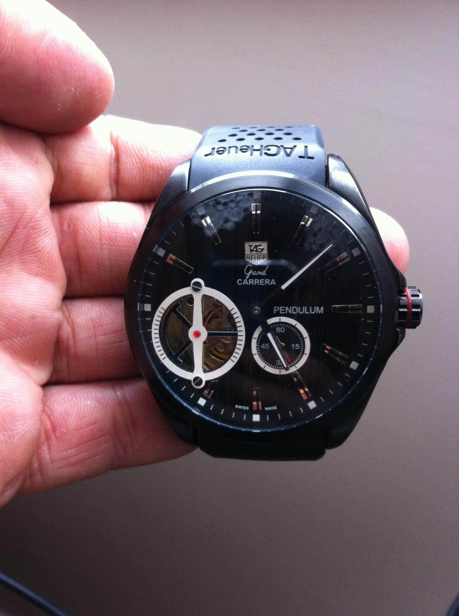купить часы grand carrera pendulum если