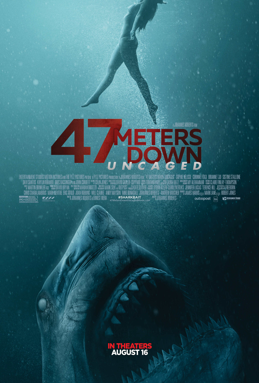 47 Metre Derinde Kafes - 47 Meters Down Uncaged (2019) 1080p/720p/BRRip/m720p/m1080p BluRay x264 DUAL