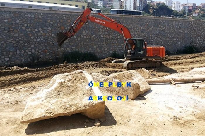 Bursa'da Dere Islahı Çalışmaları Sırasında