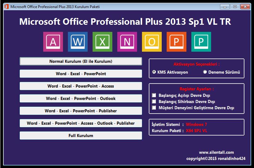 microsoft office professional plus 2013 sp1 vl tr key