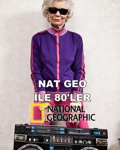 National Geographic Nat Geo ile 80'ler (2016) türkçe dublaj belgesel indir