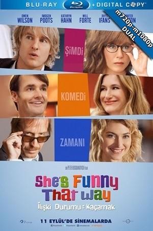 İlişki Durumu Kaçamak – She's Funny That Way 2014 m720p-m1080p DuaL TR-EN – Tek Link