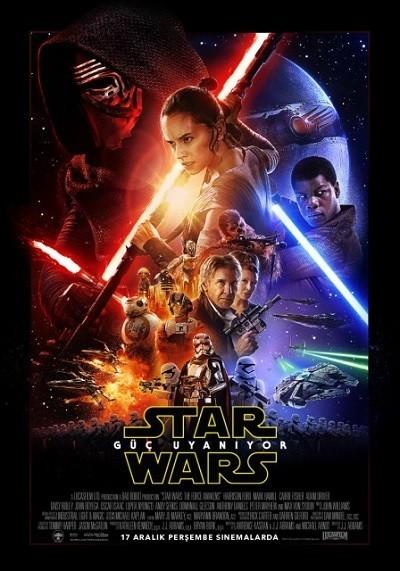 Star Wars: Bölüm VII - Güç Uyanıyor - Star Wars: The Force Awakens | 2015 | BRRip XviD | Türkçe Dublaj - Teklink indir