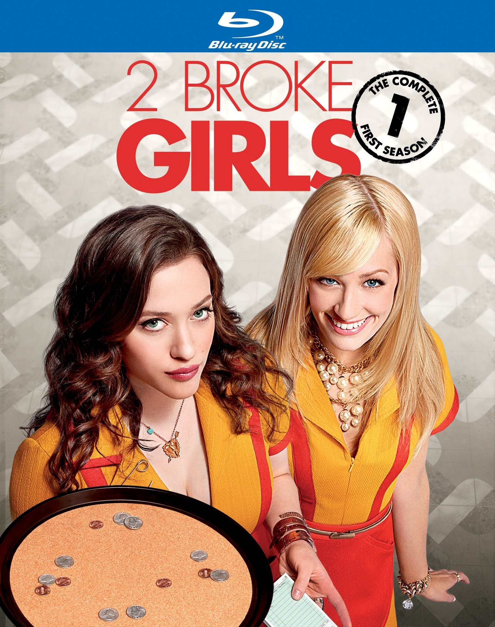 2 Broke Girls 1. Sezon ( 720p Bluray ) Türkçe - English Altyazılı {2011 - 2012}