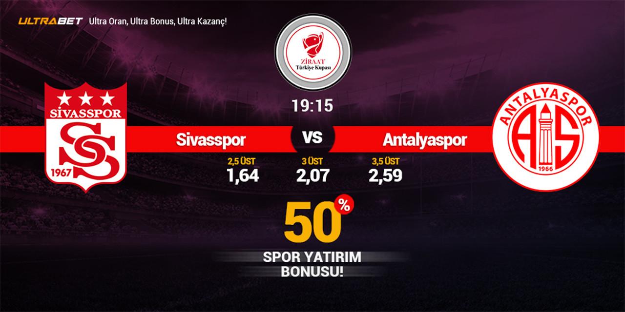 Sivasspor - Antalyaspor Canlı Maç İzle
