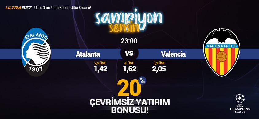 Atalanta - Valencia Canlı Maç İzle