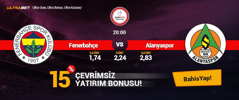 Fenerbahçe - Alanyaspor Canlı Maç İzle