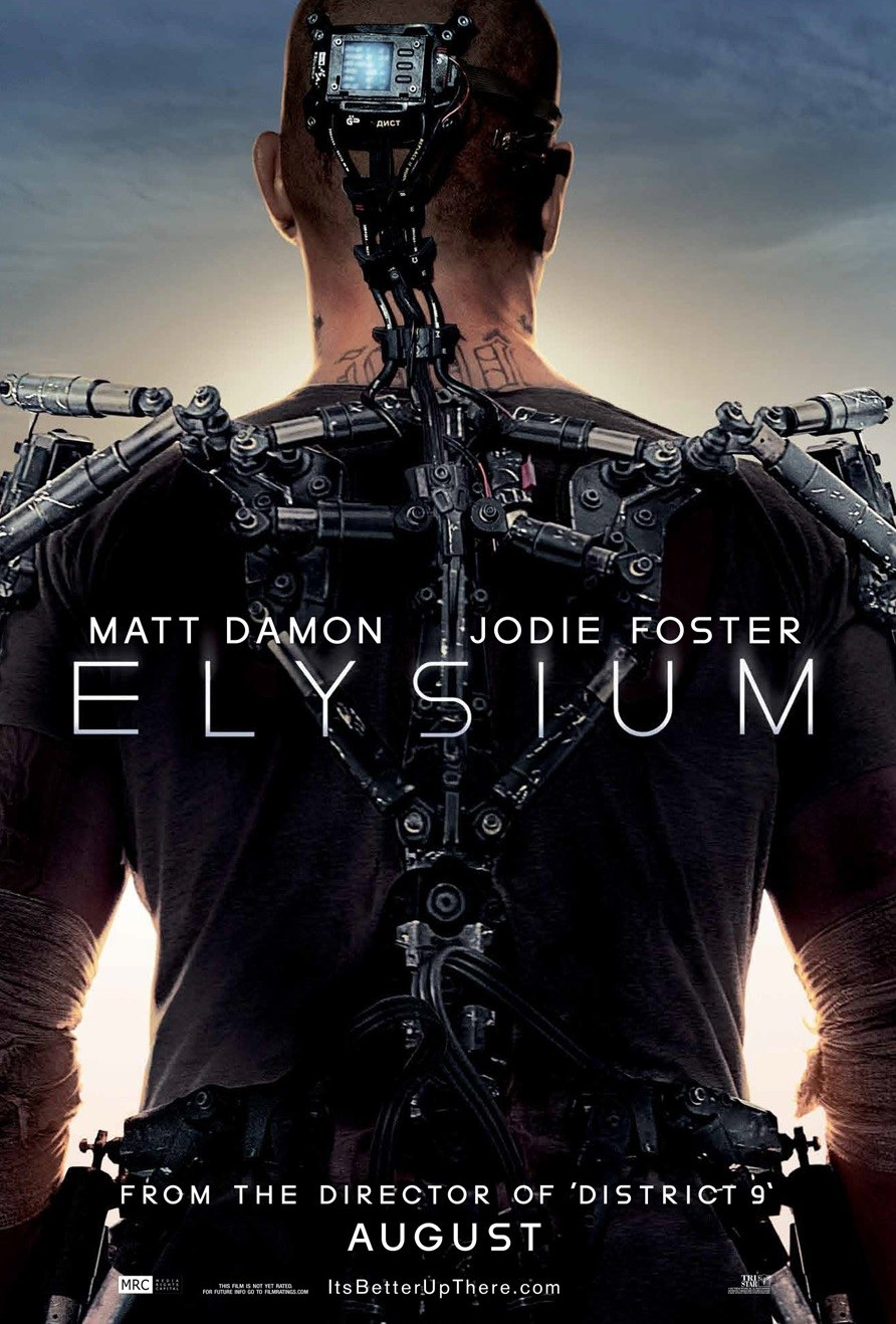elysium film posteri