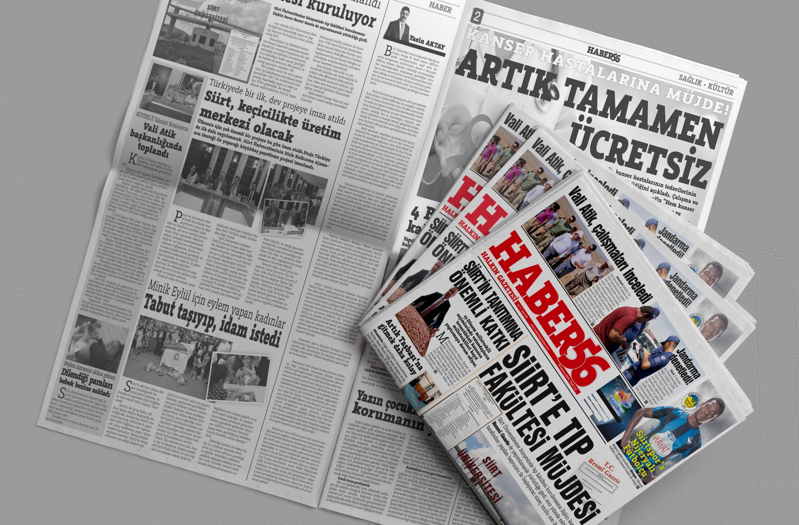 Gazete ve dergi tasarımlarınızı uygun fiyatlara yapıyoruz - Türkiye Geneli