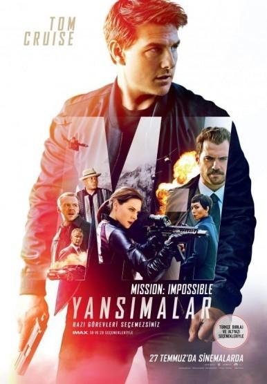 Mission: Impossible – Yansımalar Türkçe Dublaj izle – Tek Parça