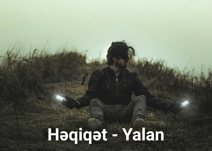 Həqiqət, yalan (Ali Ahlas)