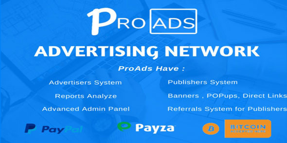 Ücretsiz ProAds v2.6.0 - Online Reklamcılık Scripti