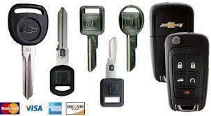 Chevrolet Anahtar Çeşitleri