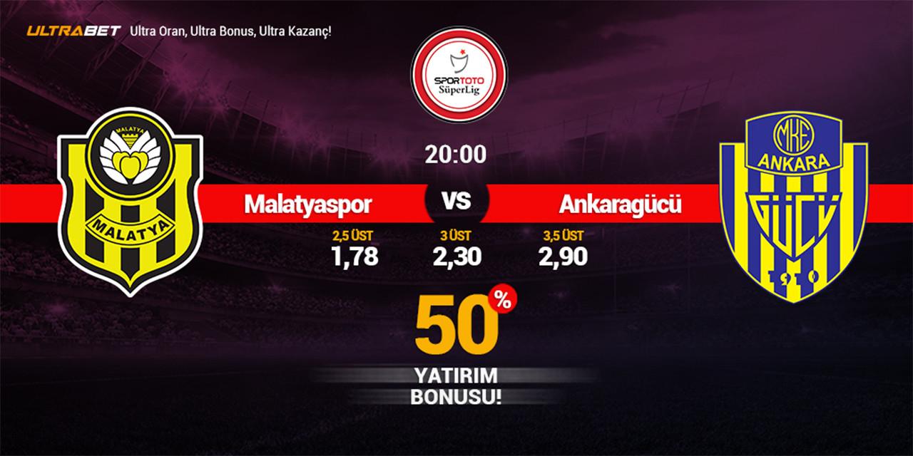 Yeni Malatyaspor - Ankaragücü Canlı Maç İzle