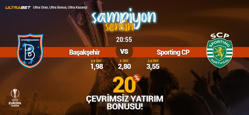 Başakşehir - Sporting Canlı Maç İzle