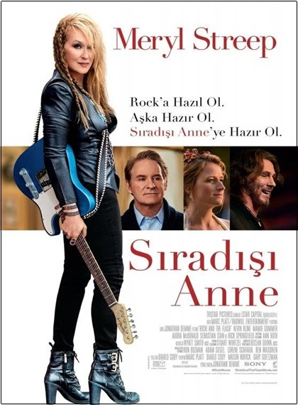 Sıradışı Anne - Ricki And The Flash | 2015 | BRRip XviD | Türkçe Dublaj - Tek Link