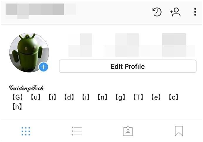 instagram yazı tipi değiştirme
