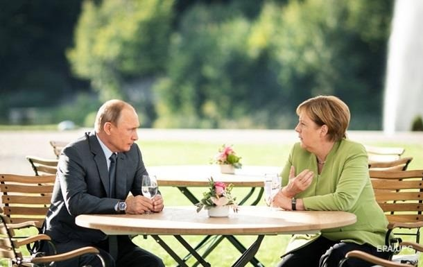 В Германии заявили о победе Ангелы Меркель над Путиным