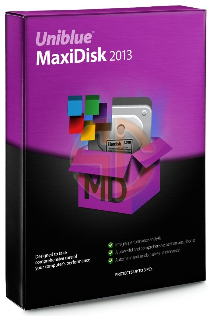 Uniblue MaxiDisk Full İndir