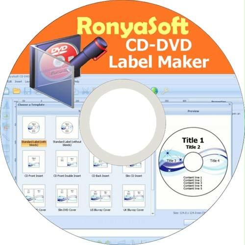 RonyaSoft CD DVD Label Maker Full İndir