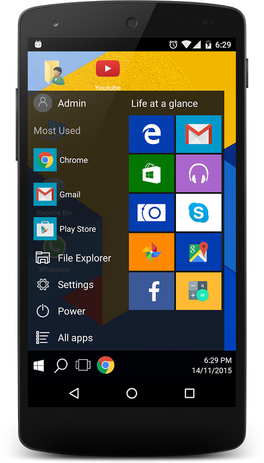 Win 10 File Manager Android APK