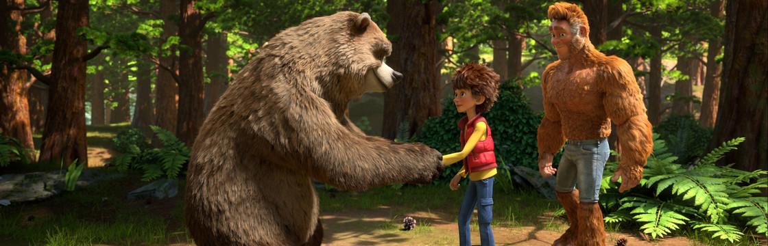 Kocaayak ve Oğlu (The Son of Bigfoot)