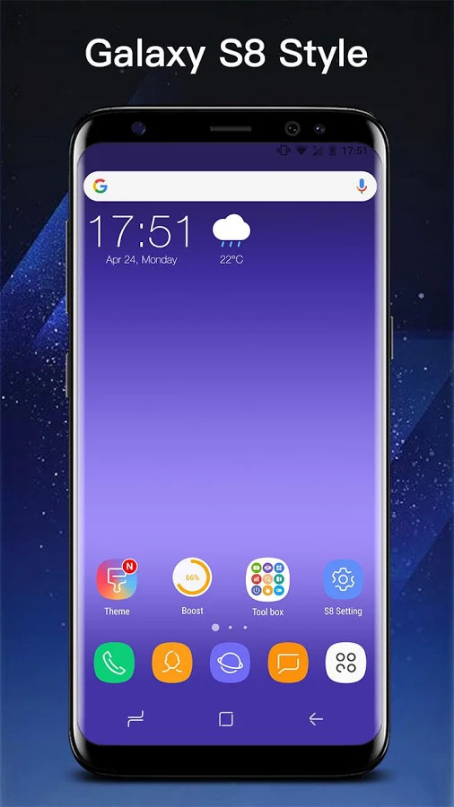 SS S8 Launcher for Galaxy S8 - Theme, Icon pack Apk İndir