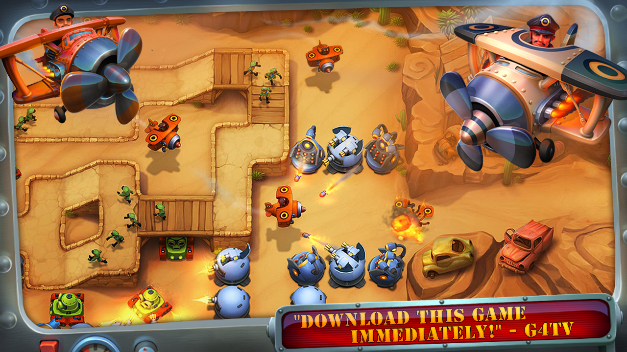 Fieldrunners 2 Android Para Hileli