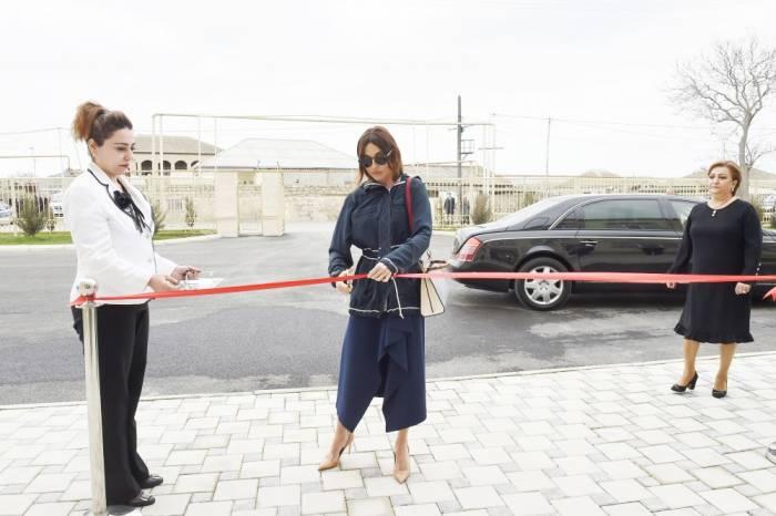 Mehriban Əliyeva Maştağada açılış mərasimində iştirak etdi